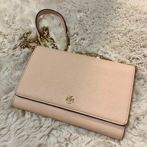 Tory Burch Pink Chain Wallet